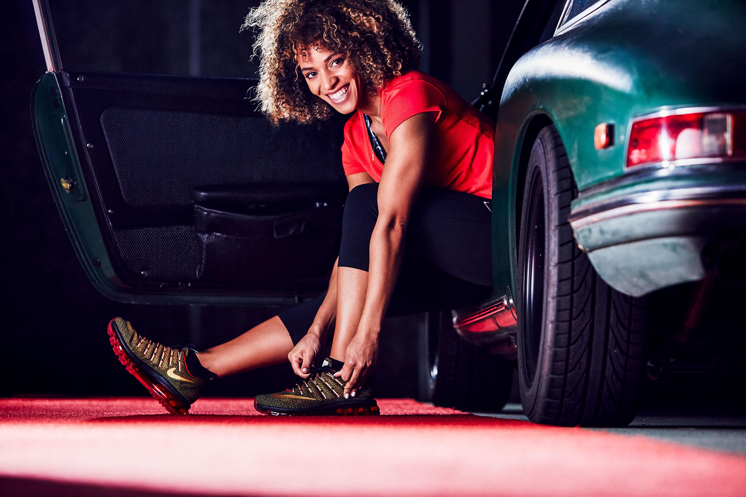 Nike Red Carpet Campaign shot by River Jordan