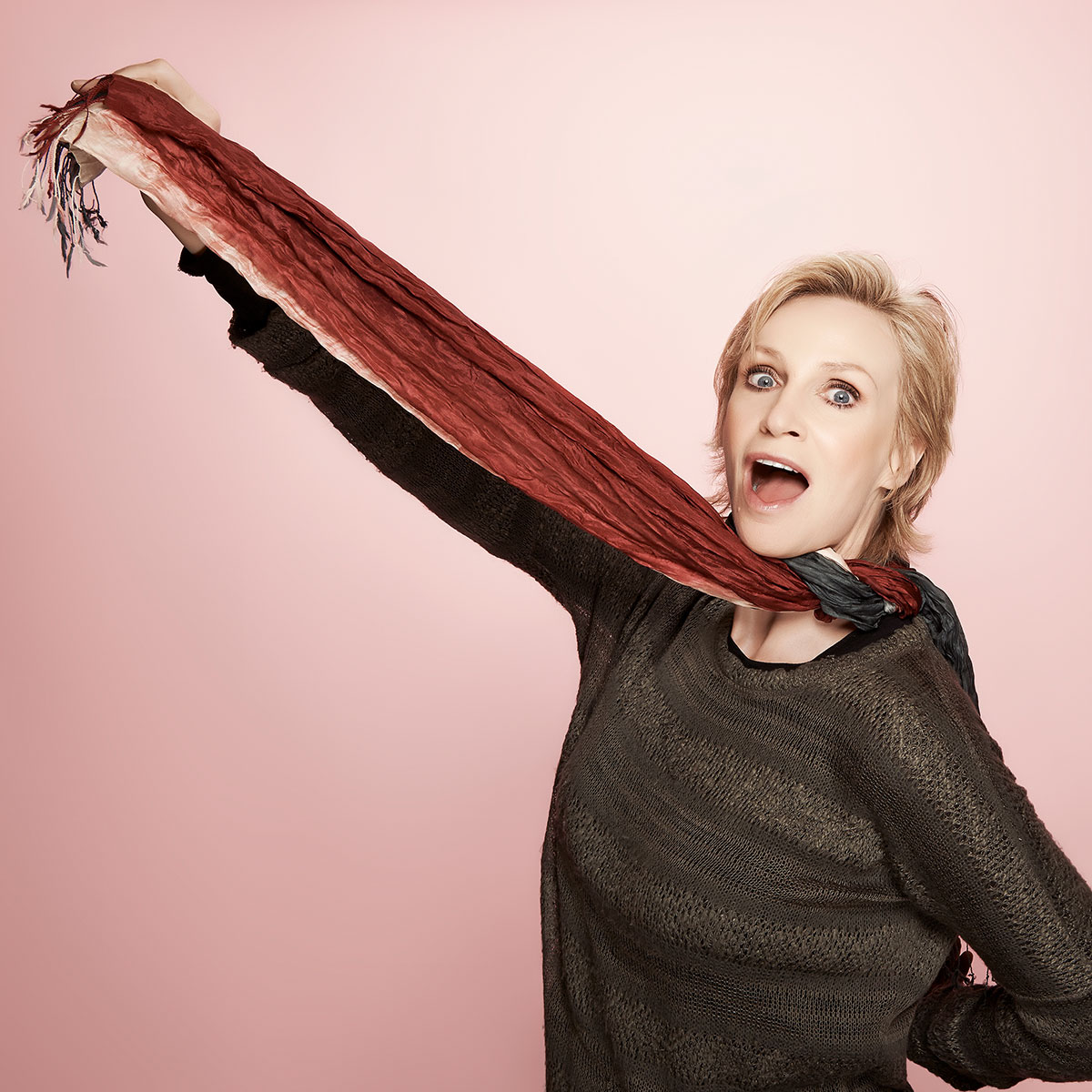 Entertainment Weekly feature on Sundance: Jane Lynch shot by Christopher Beyer