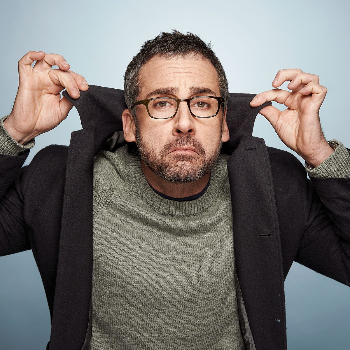 Entertainment Weekly feature on Sundance: Steve Carell shot by Christopher Beyer