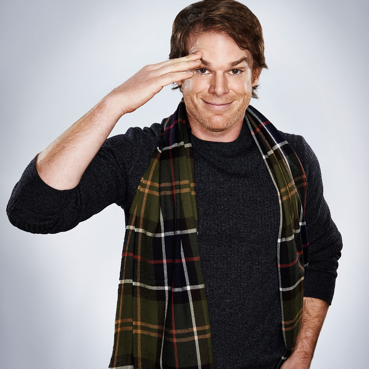 Entertainment Weekly feature on Sundance: Michael C. Hall shot by Christopher Beyer