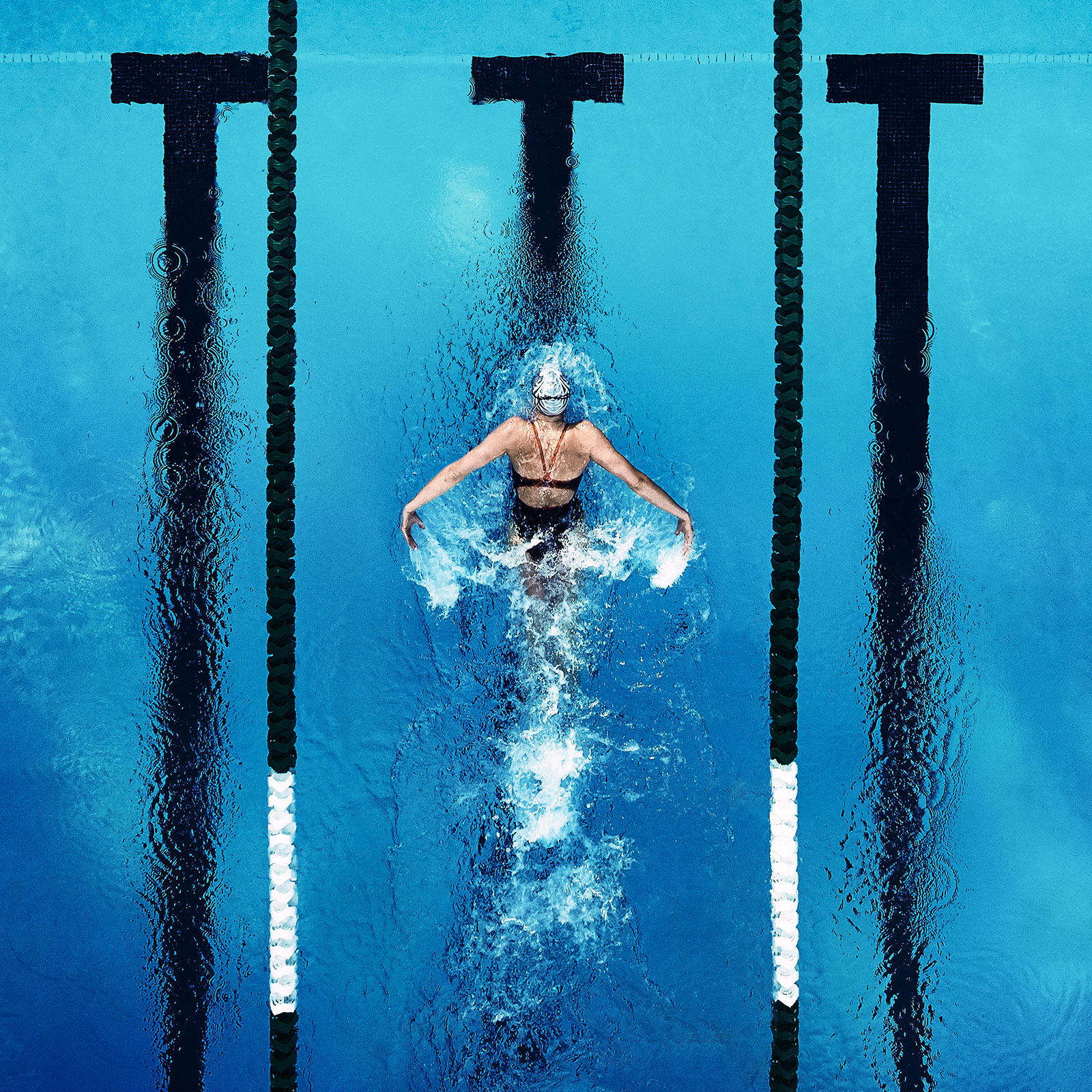 Speedo Team USA Campaign shot by Justin Bastien