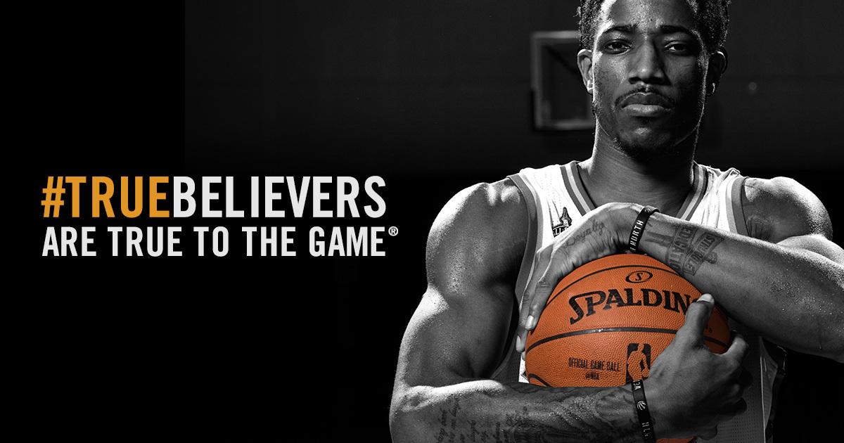 Spalding #truebelievers Campaign
