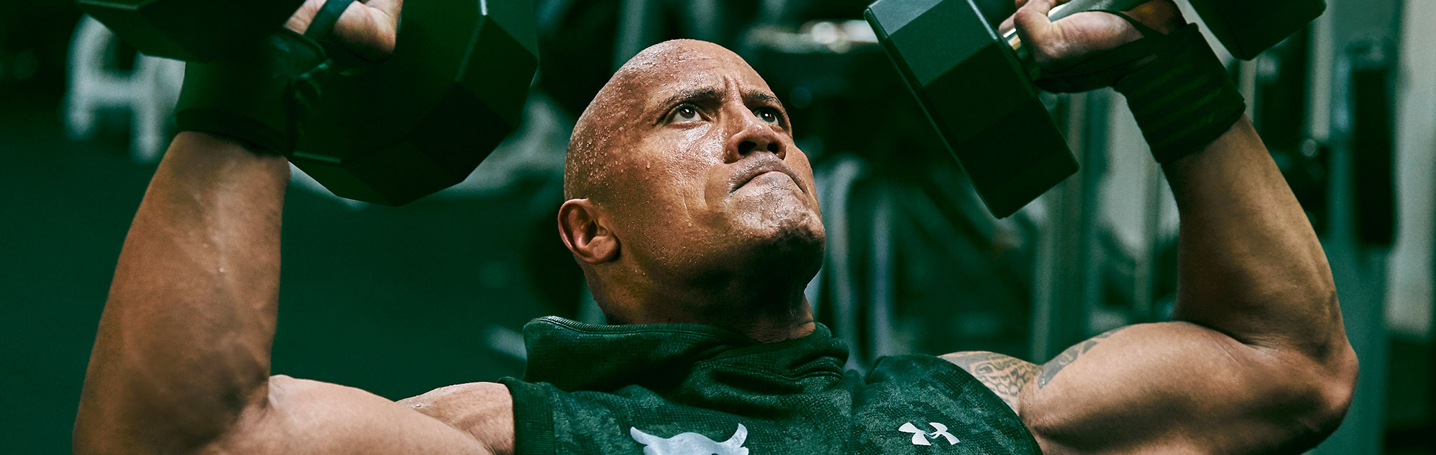 Dwayne The Rock Johnson for Under Armour
