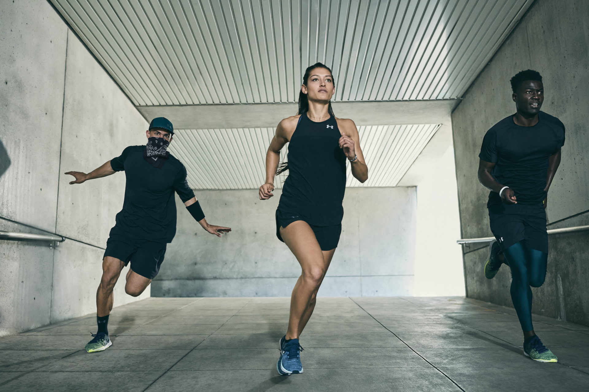 Under Armour Run Seasonal Campaign