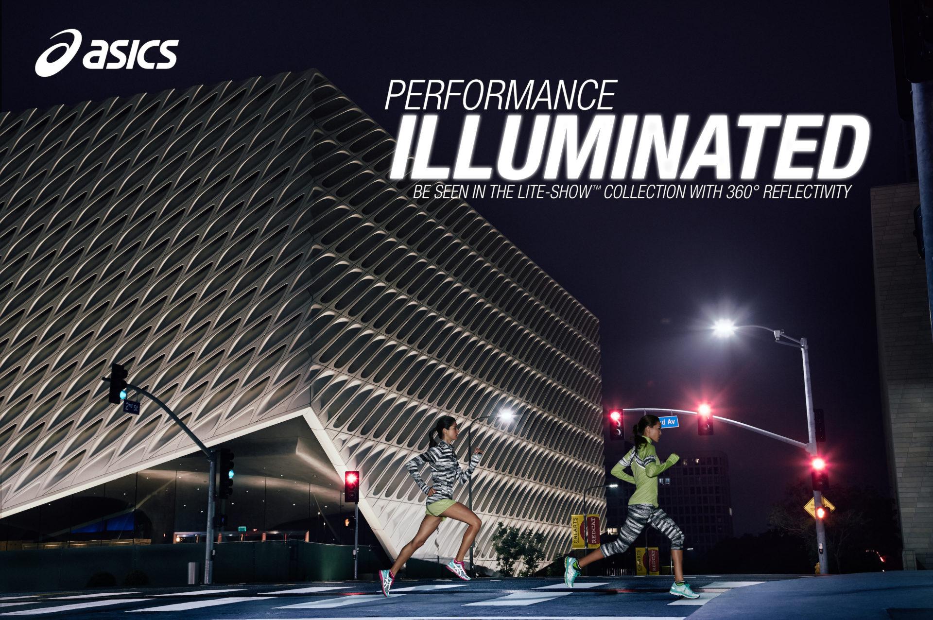 Asics Performance Illuminated Campaign